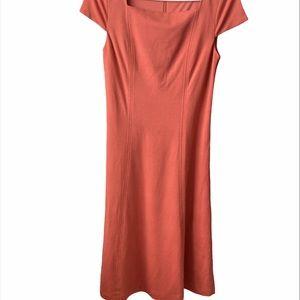 Lark & Ro Coral Sleeveless Dress Womens 2